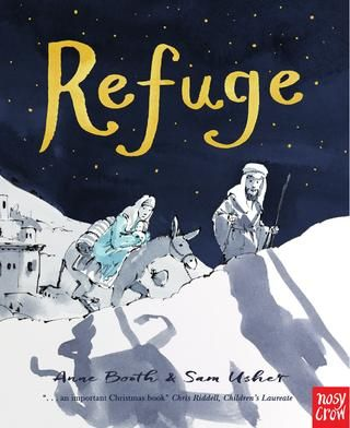 Refuge - preview  Opening spreads of Refuge, written by Anne Booth, illustrated by Sam Usher, and published by Nosy Crow. Buy the book online: http://nosycrow.com/product/refuge/
