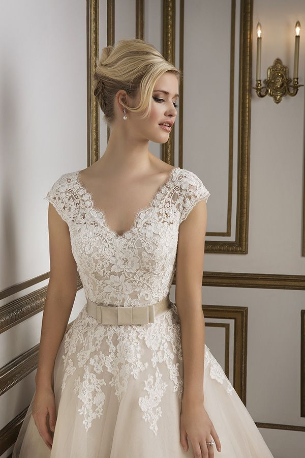 Trendy Justin Alexander Spring Embraces Old Hollywood Glamour With Wedding Dress