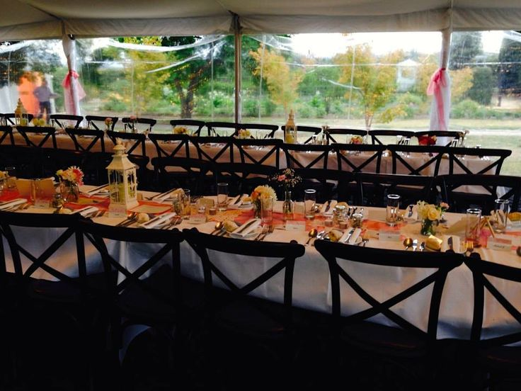 Table settings - marquee meeting
