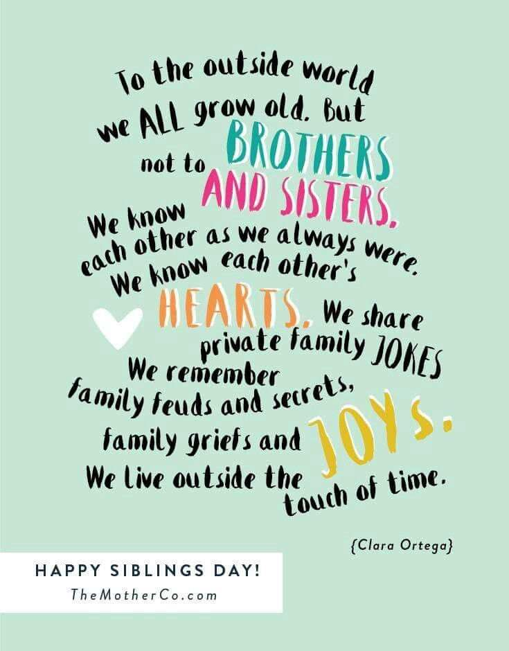 30 Best Siblings Day Quotes 2019 | Cute Quotes | Siblings