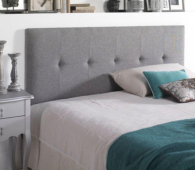 Cabecero Waldorf tapizado gris 150 Material: Algodon Material: Algodon 100 . ... Eur:314 / $417.62