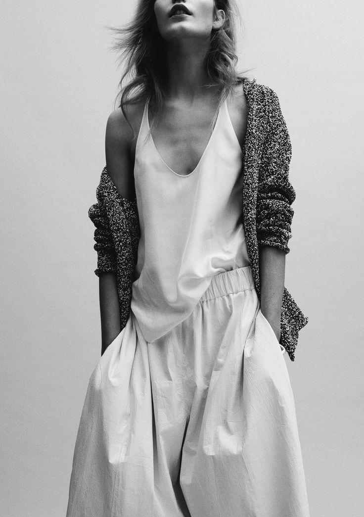 opaqueglitter:  Karolina Waz Photographed by Charlotte Wales (Top: Phillip Lim, Pants: Acne)