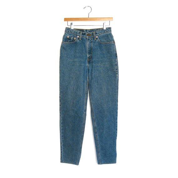 Vintage LEVIS hoog getailleerde spijkerbroek door CoolFriends