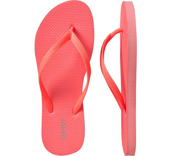 Color Rosa Coral - Coral Pink!!! Flip Flops