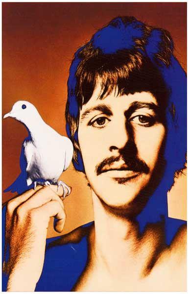 Ringo Starr Psychedelic Avedon Beatles Music Poster 11x17