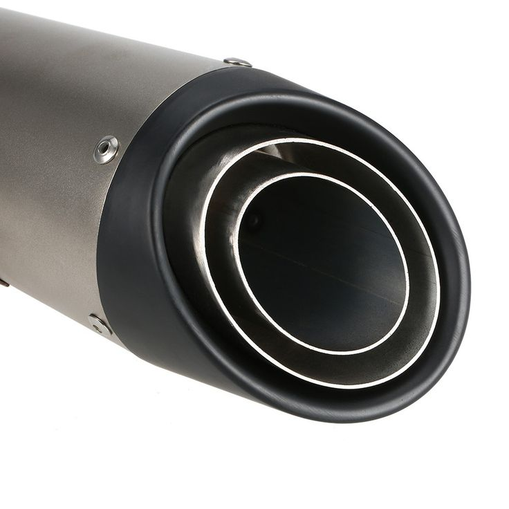38-51mm Black Tail Refit Exhaust Muffler With Fit For Sales Online #1 - Tomtop.com