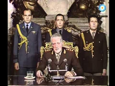 """1982-Mayo-01 """"hoy un nuevo acto de guerra de Gran Bretaña, han usado y están usando en este momento el fuego contra nosotros y le hemos respondido y responderemos con el fuego y esa será siempre nuestra respuesta si el enemigo intenta conventir nuevamente en colonia la tierra Argentina"""""""