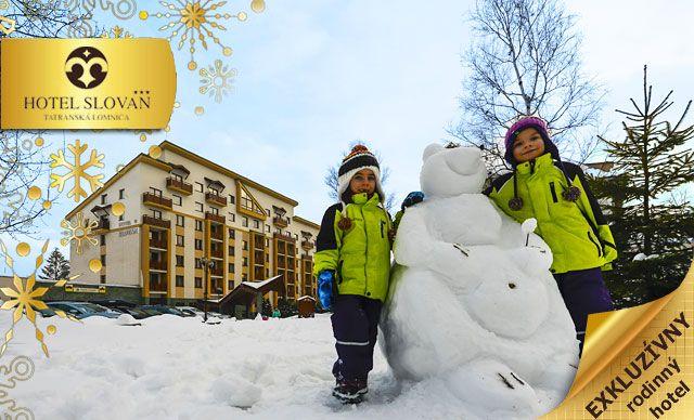 Trojdňová rodinná lyžovačka s ubytovaním v hoteli iba za cenu 149 euro.