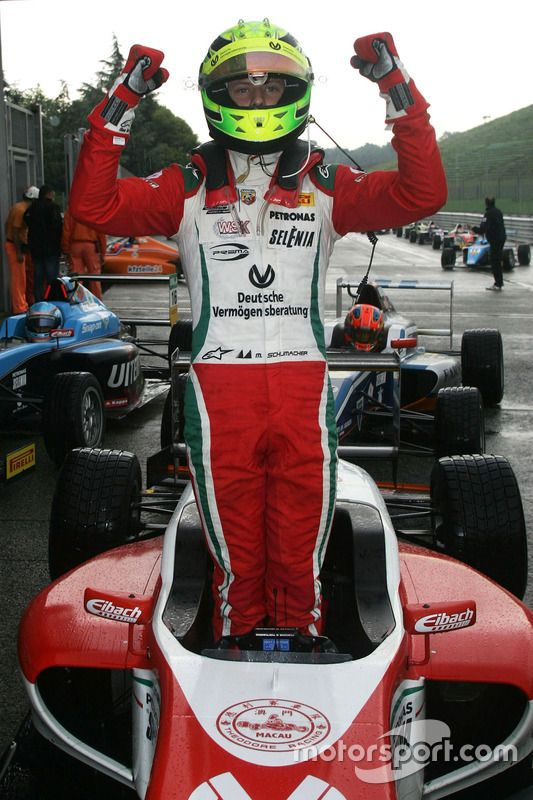 Race 2 winner: Mick Schumacher, Prema Power Team