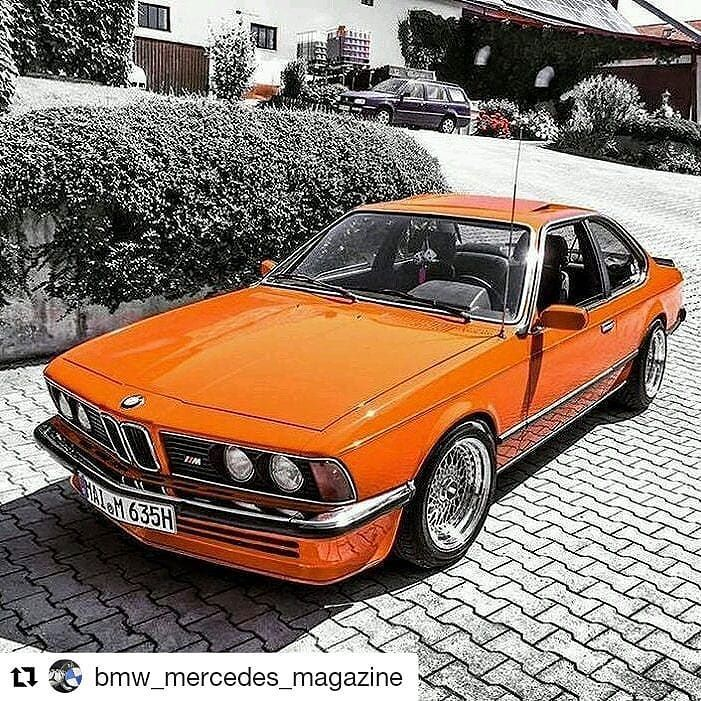 635csi, the king of BMWs