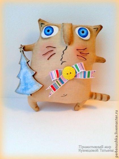 Ароматизированные куклы ручной работы. Ярмарка Мастеров - ручная работа Кофейные котики. Handmade.