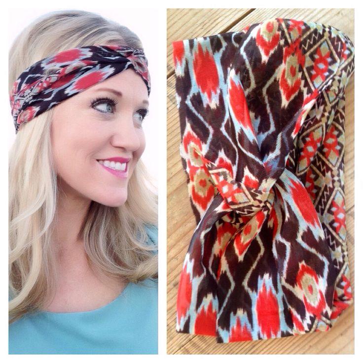 Navajo turban headwrap