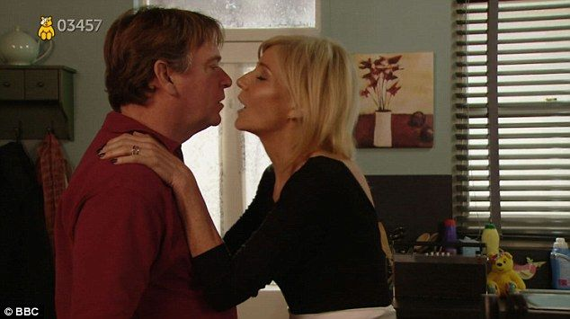 Ghosts of dead wives past: Cindy Beale (Michelle Collin) returned in the special EastEnders sketch