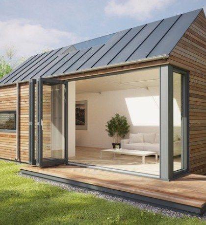 Small Eco House Simple Floor Plans, Modern Eco Pod Tiny House By Pod Space