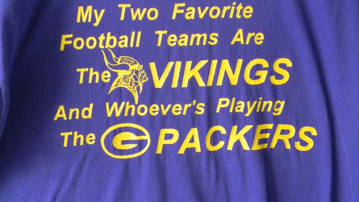 hehehehe, not a vikings fan, but DEF agree with the Packers line. ;)