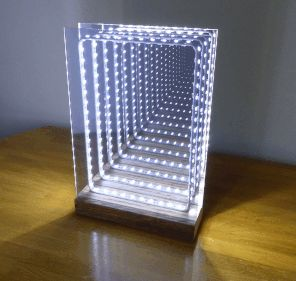 Best 25+ Infinity mirror ideas on Pinterest | Led mirror ...