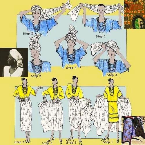 czeiger   Panos amarrados no corpo e na cabeça