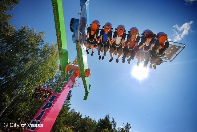 The Amusement park Wasalandia @ Vaasa. www.visitvaasa.fi.