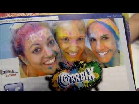 Orrbix Holi Happy Colors - Polvere Colorata - Edicola Giugno 2017- Colle...