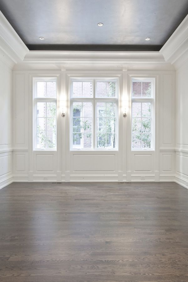 PLD Custom Home Builders...ceiling, paneling, sconces floors...great start