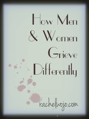 How Men and Women Grieve Differently- a guest post by my friend Erica McNeal, author of Good Grief!