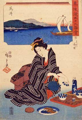 Utagawa Hiroshige, print, Ota Memorial Museum of Art, Tokyo