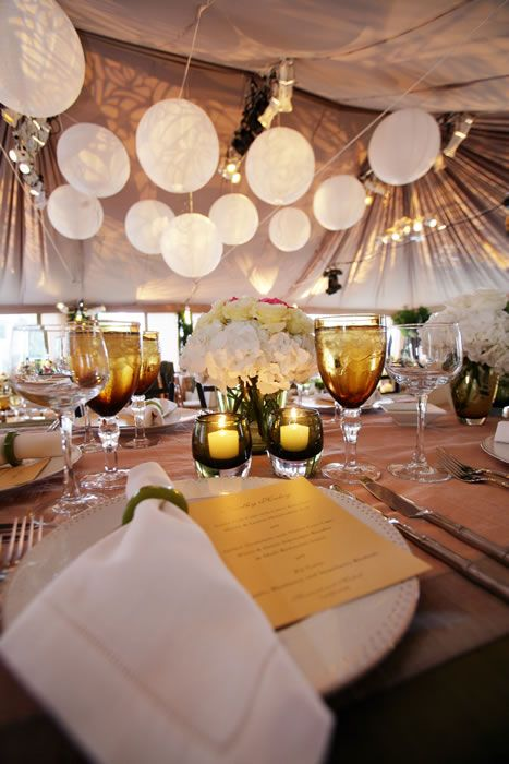 love the globes- decorative for engagement party