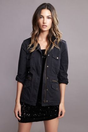 RUBY ARMY JACKET - Shop Lily - Lily Aldridge for Velvet - Women