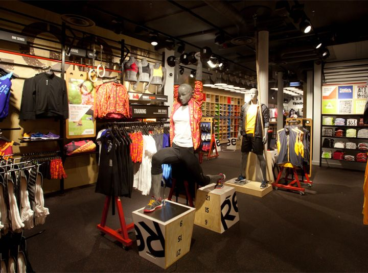 Reebok store in Covent Garden by Brown Studio, London - UK