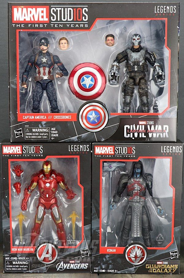 """Marvel Legends 6/"""" Inch Studios 10th Avengers Age of Ultron Loose"""
