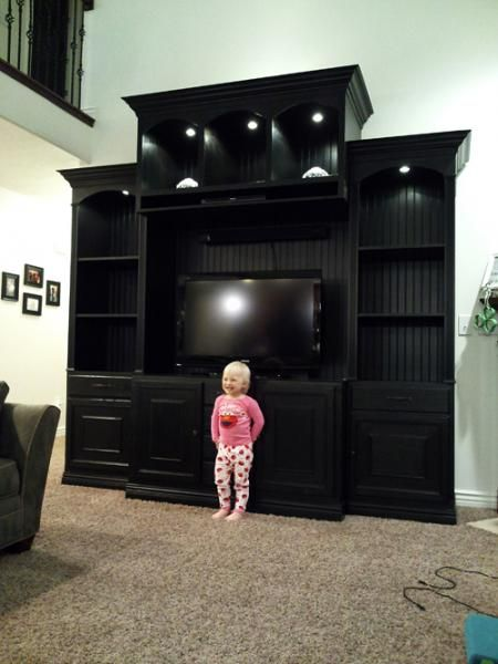 The Entertainment Center Ana White Find This Pin And More On Living Room Media