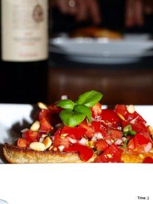 Bruschetta – enkelt og godt – rett og slett!