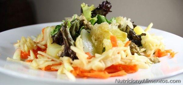 Ensalada de Patata con chucrut