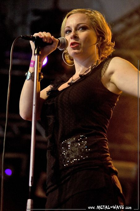 Anneke van Giersbergen of The Gathering. I'm in love with her voice