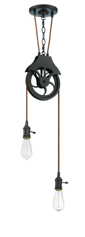 pendant lighting hardware. two light keyed socket pully pendant hardware lighting e
