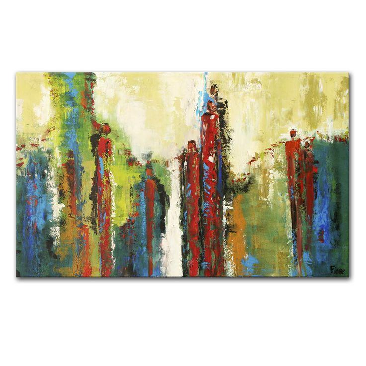 Abstracte schilderijen van Fiore - betaalbare schilderijen voor elk budget -