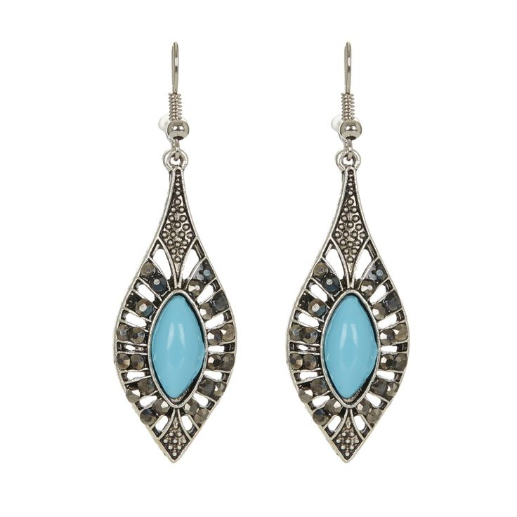 Charm Earrings Silver