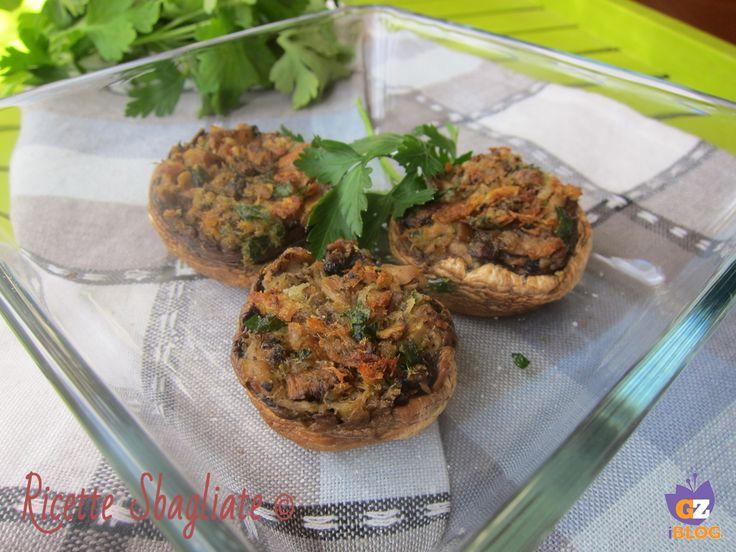 Funghi ripieni di tonno, ricetta originale