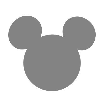 DIY FREE Printable Mickey Mouse + Minnie Mouse Templates