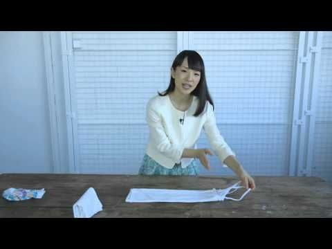 Marie Kondo shows how to properly fold a shirt, camisole and socks - TODAY.com