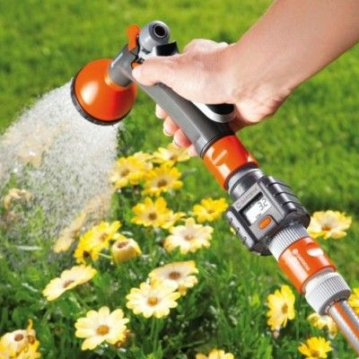 Podlewanie ogrodu z licznikiem wody