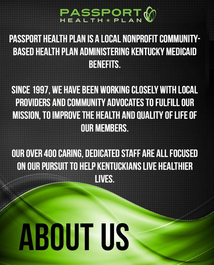 About Passport Health Plan....