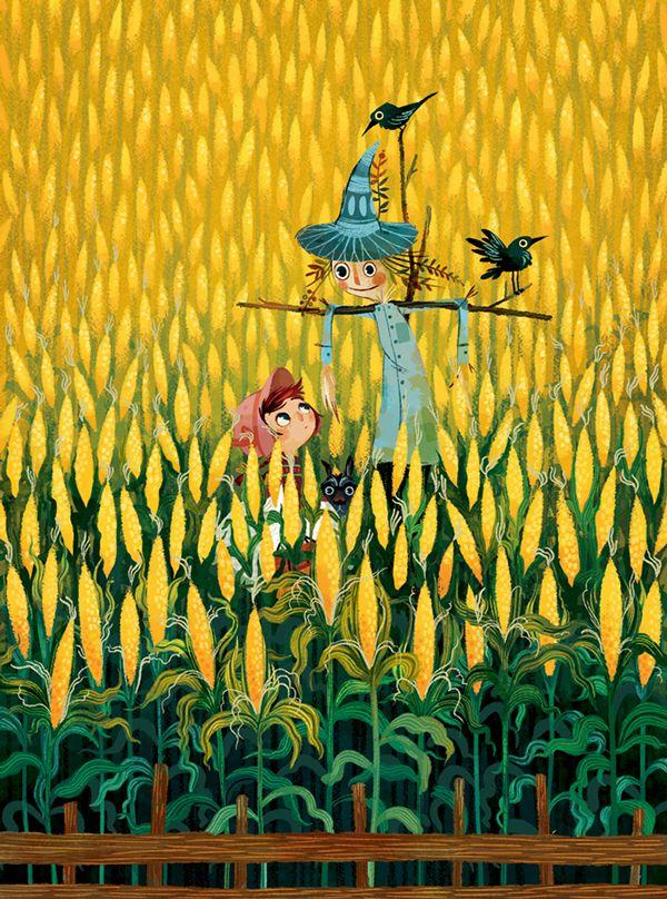 O Mágico de Oz em Ilustrações