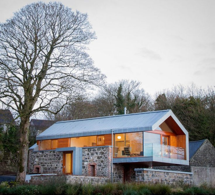Stunning preservation of Loughloughan Barn in Ireland-Loughloughan Barn is a stunning project that has been designed by McGarry Moon Architects, situated in Broughshane, Northern Ireland, UK.