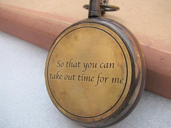 Men Vintage Pocket Watch Antique Pocket Watch  by TrendsOnline