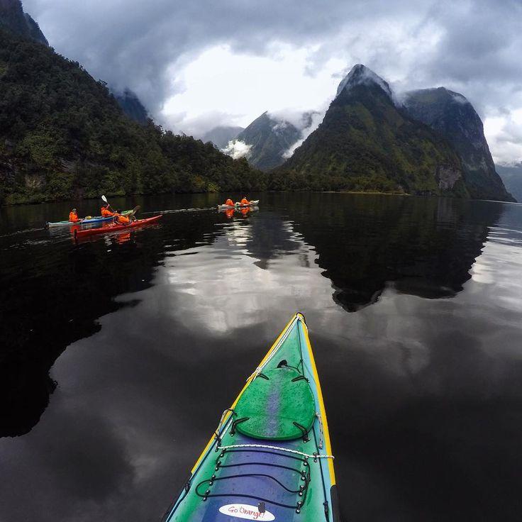 Doubtful Sound delivered! My overnight kayak trip with goorangenz showedhellip