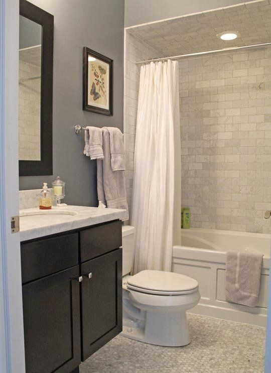 downstairs bathroom? Matt & Ben's Transitional Traditional Home — House Tour | Apartment Therapy