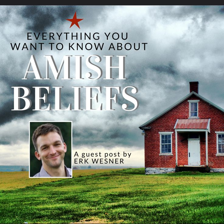 What are some key Amish beliefs? How do the Amish see themselves in the world? Do the Amish think technology is evil? How is Amish Christianity different?