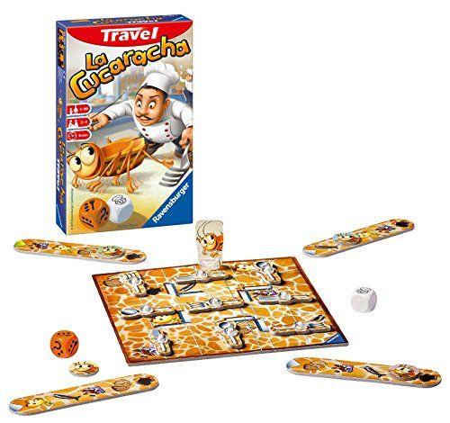 Ravensburger – La Cucaracha Travel, juego de mesa (234141)