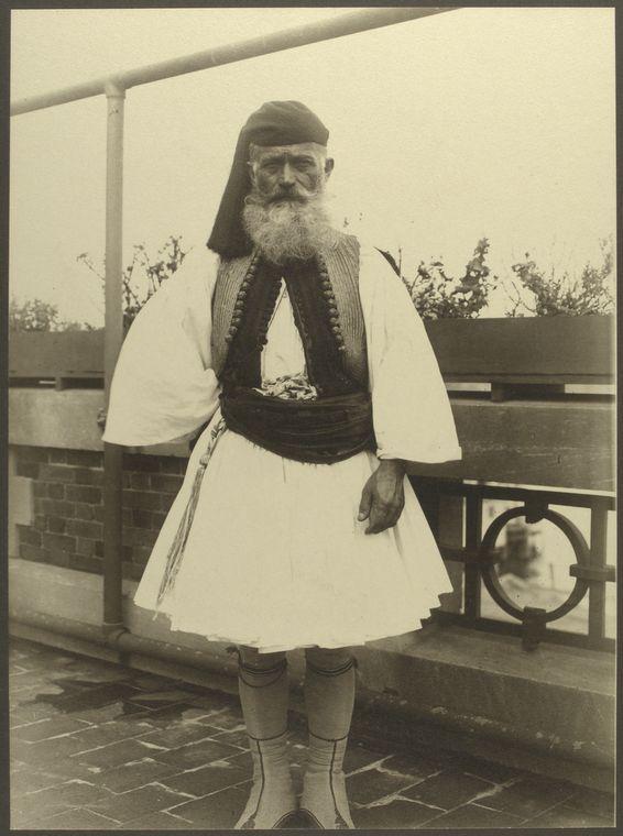 Ellis Island - Greek soldier - 1911